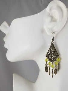 Green #27 Earrings