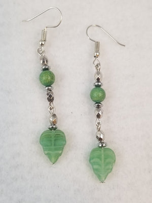 Green #32 Earrings