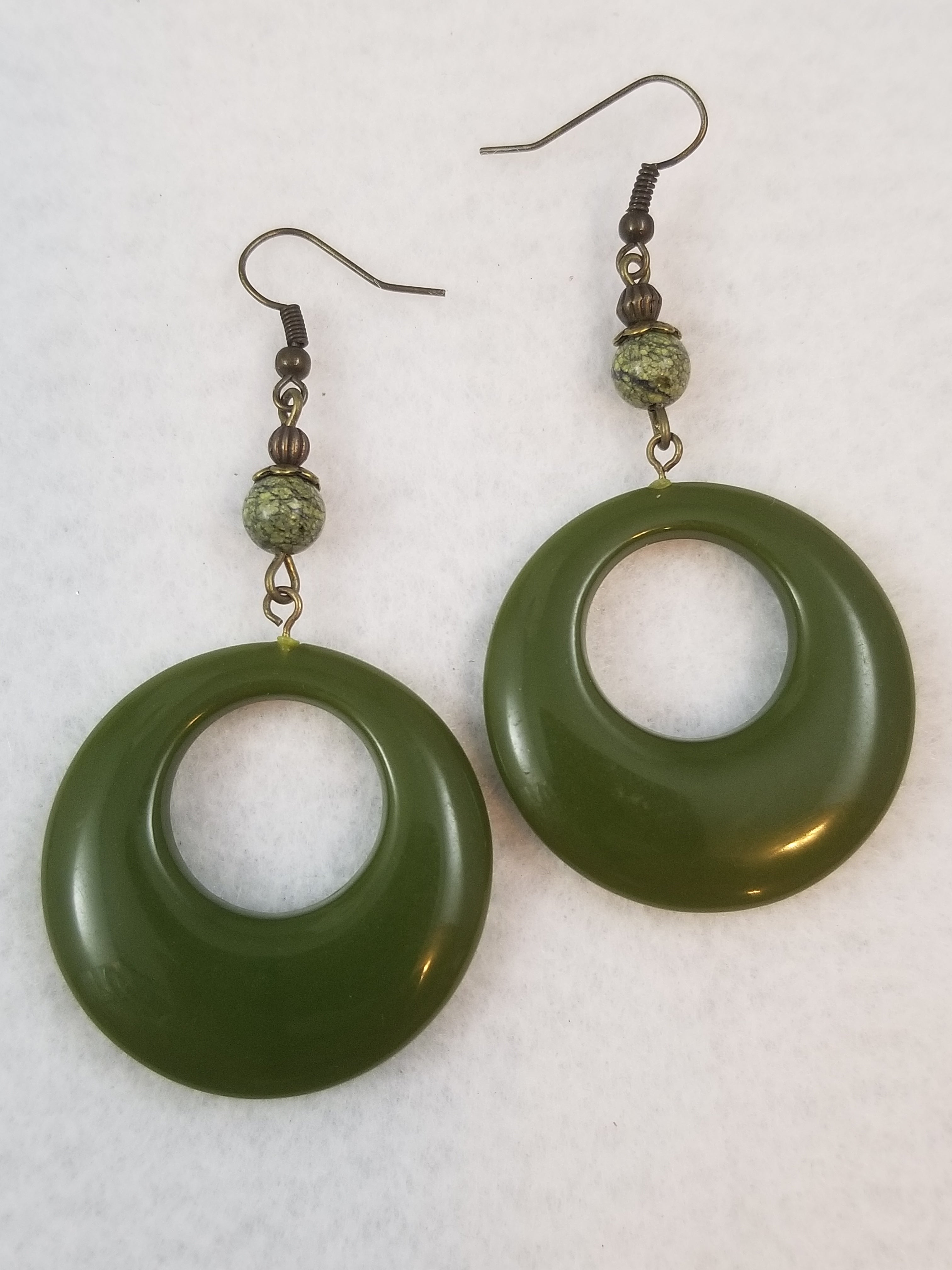 Green #41 Earrings