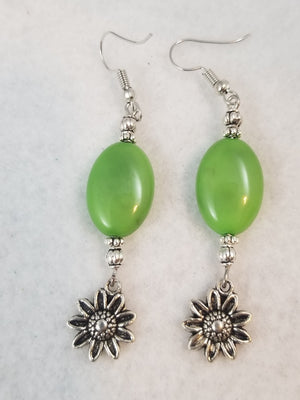 Green #4 Earrings
