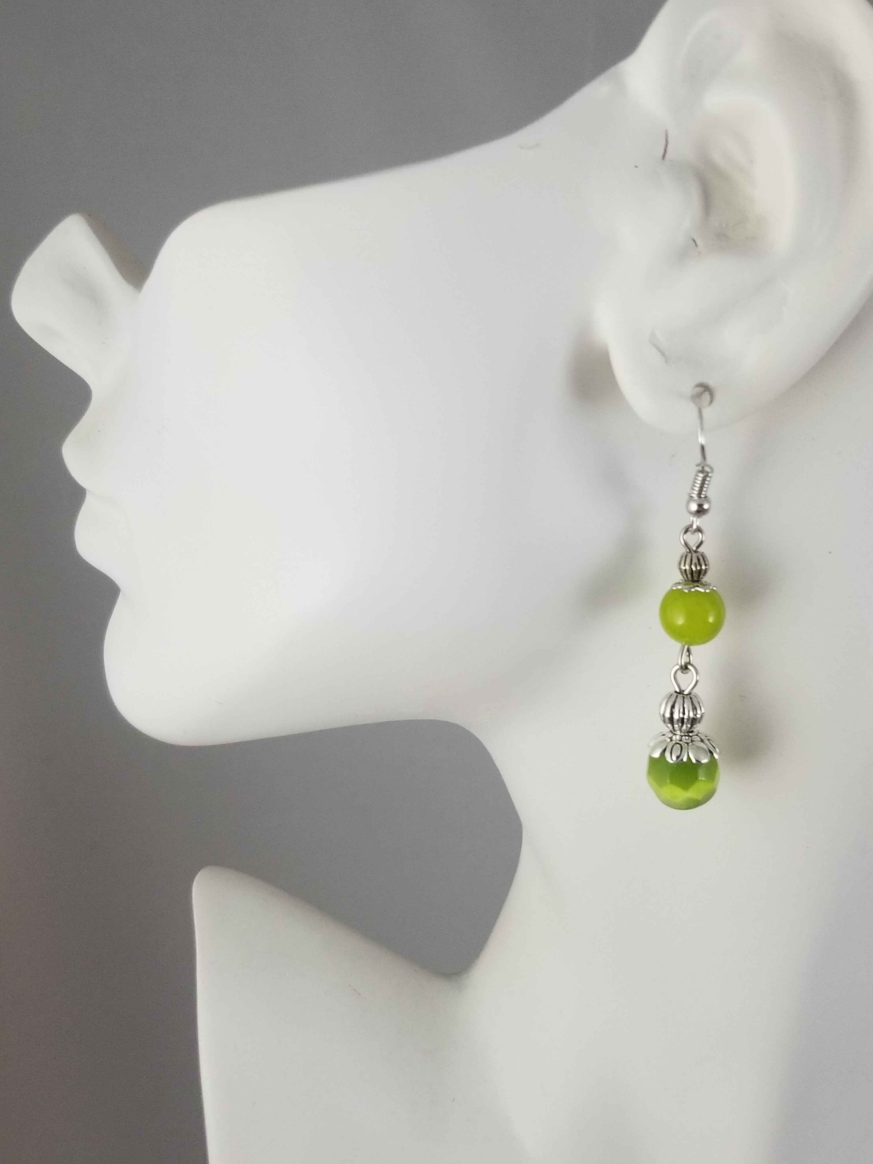 Green #7 Earrings