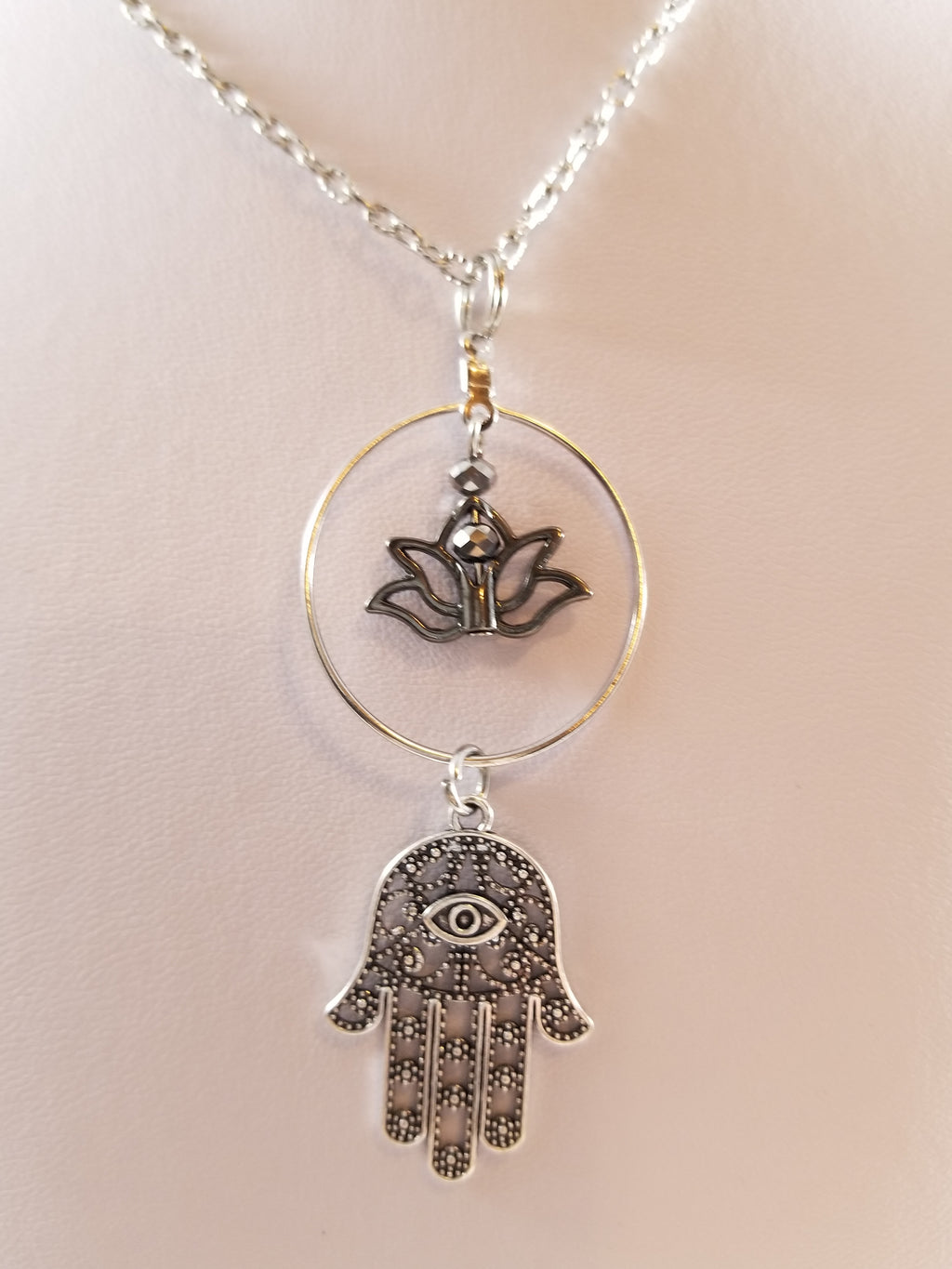 Hamsa Simply Charming Necklace