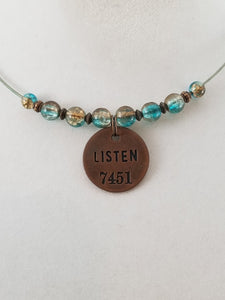 Listen 2 Necklace