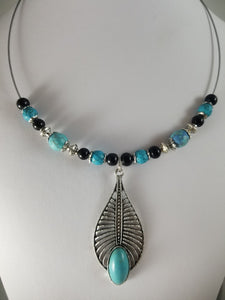 Modern Turq Necklace