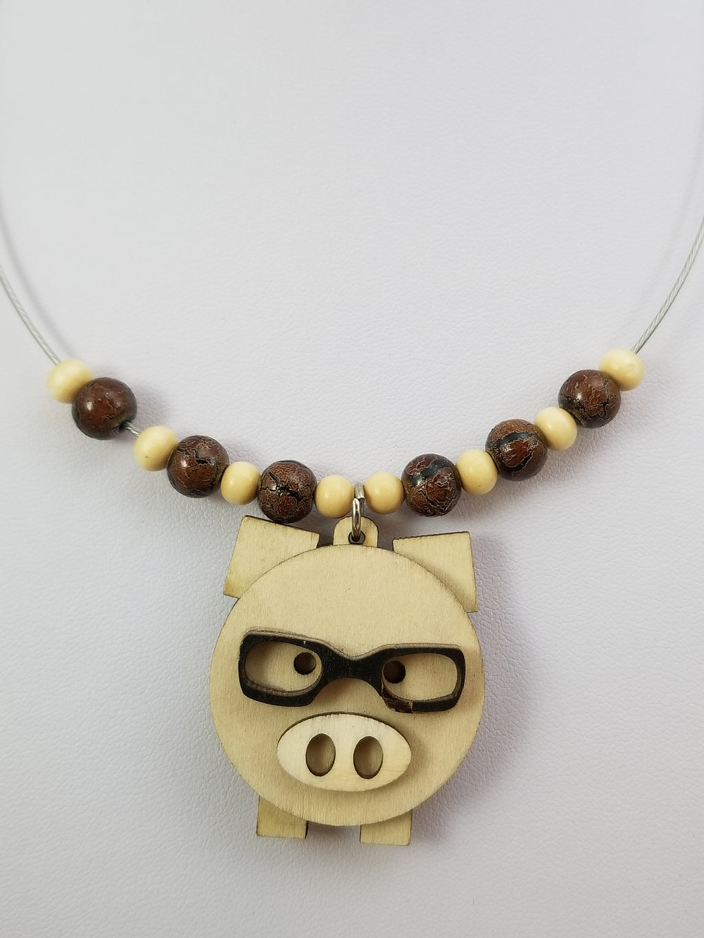 Mr. Piggy Necklace