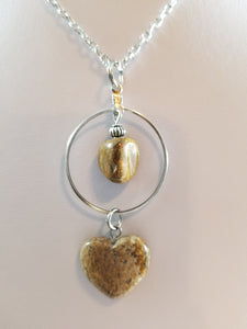 Natural Heart Simply Charming Necklace