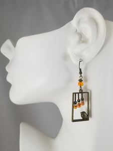 Orange #11 Earrings