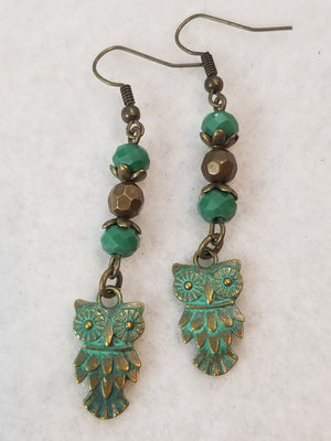 Patina Earring #13 Earrings
