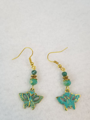 Patina Earring #14 Earrings