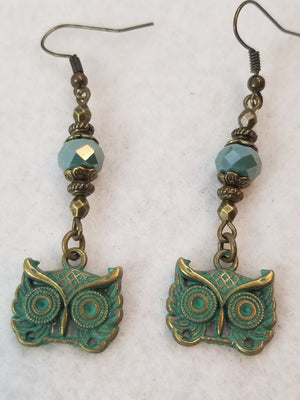 Patina Earring #5 Earrings