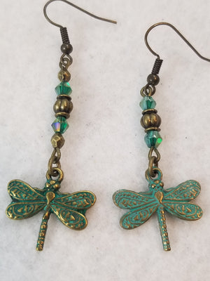 Patina Earring #6 Earrings
