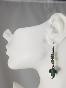 Patina Earring #7 Earrings