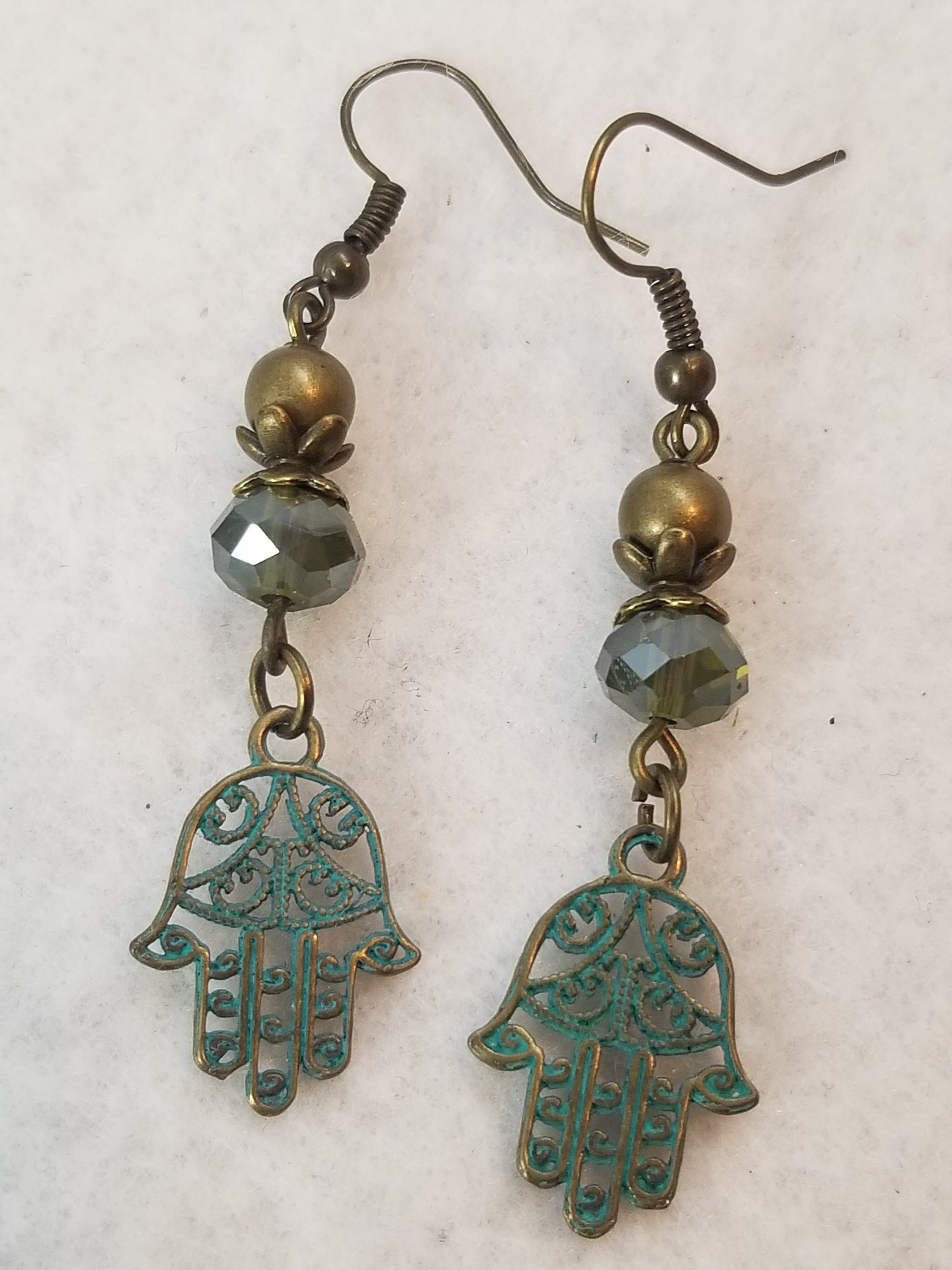 Patina Earring #9 Earrings