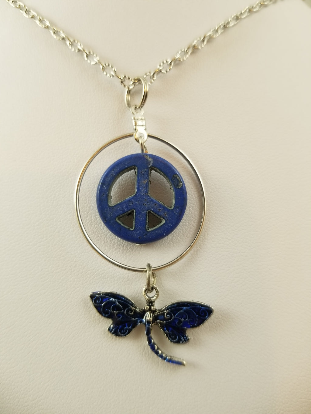 Peaceful Dragonfly Simply Charming Necklace