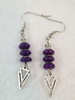 Purple #12 Earrings