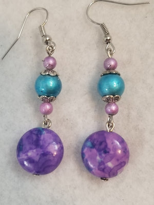 Purple #17 Earrings