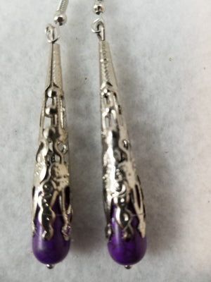 Purple #18 Earrings