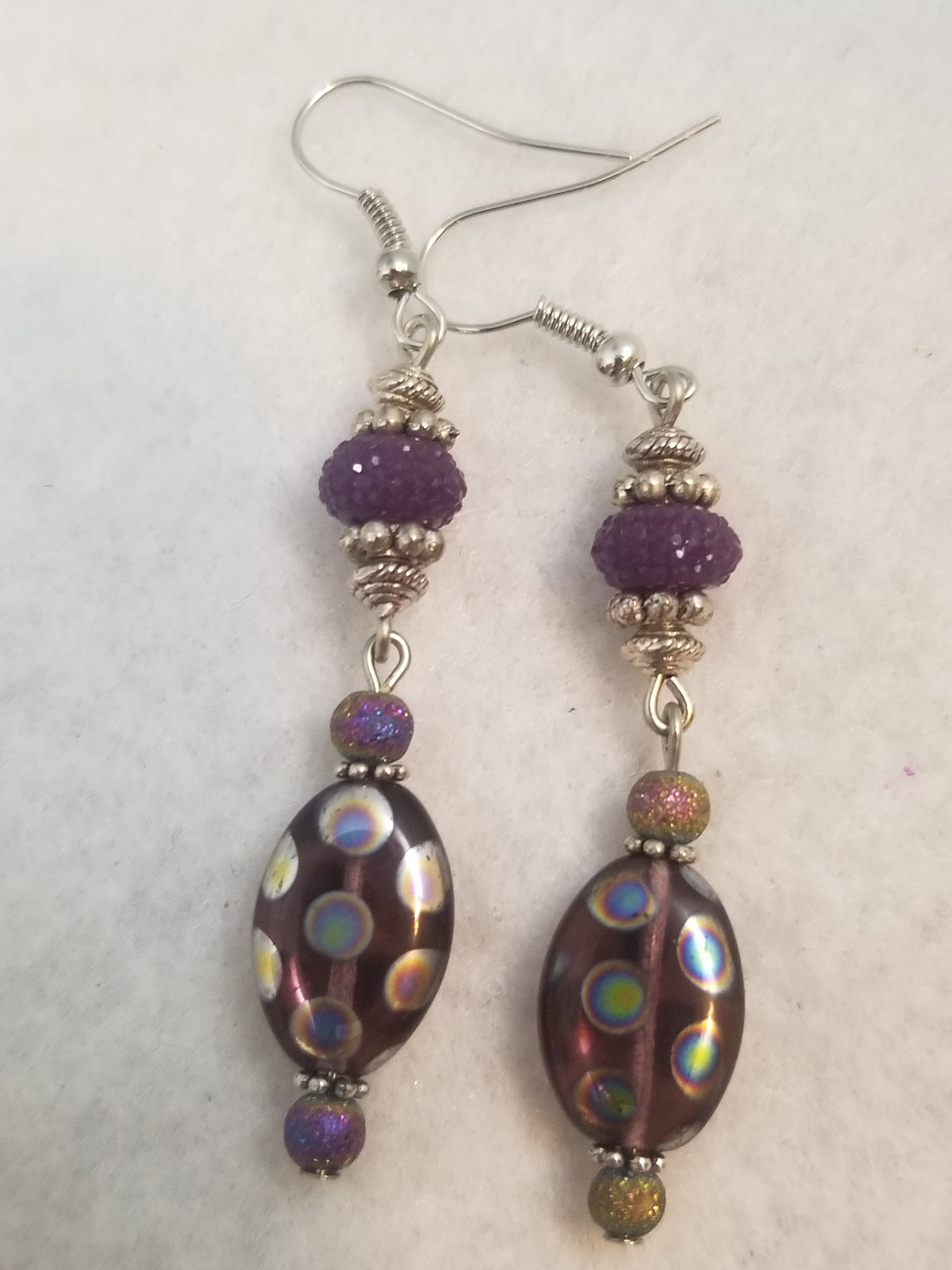 Purple #4 Earrings
