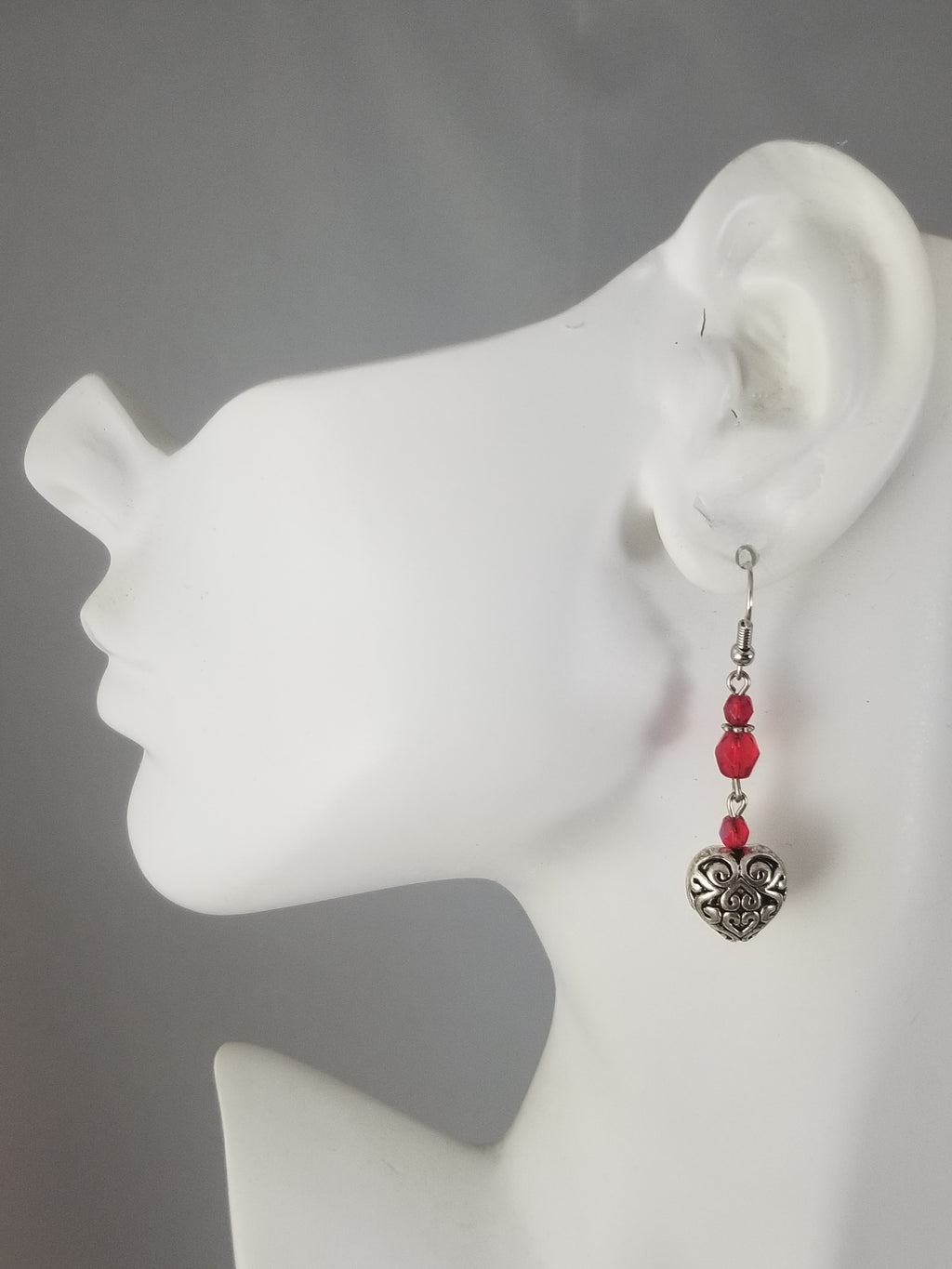 Red #12 Earrings