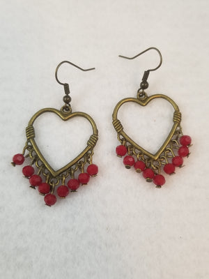 Red #19 Earrings