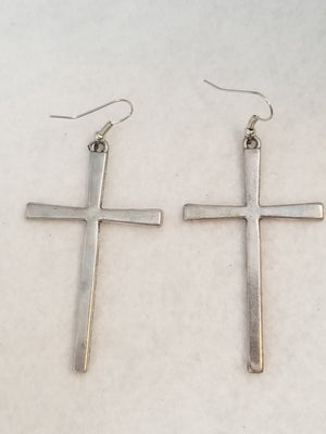 Silver #3 Earrings