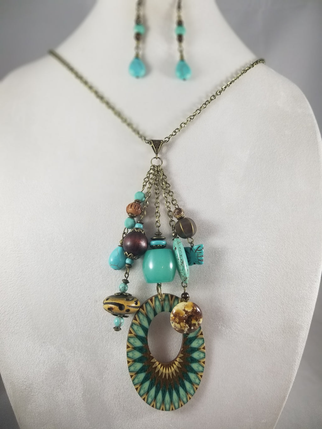 Sonora Necklace with Earrings