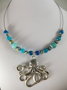 Steamy Octopus Necklace