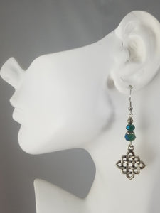 Turquois Colored #16 Earrings