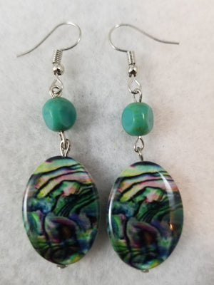 Turquois Colored #21 Earrings