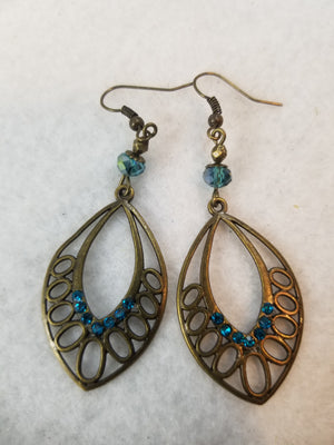 Turquois Colored #28 Earrings