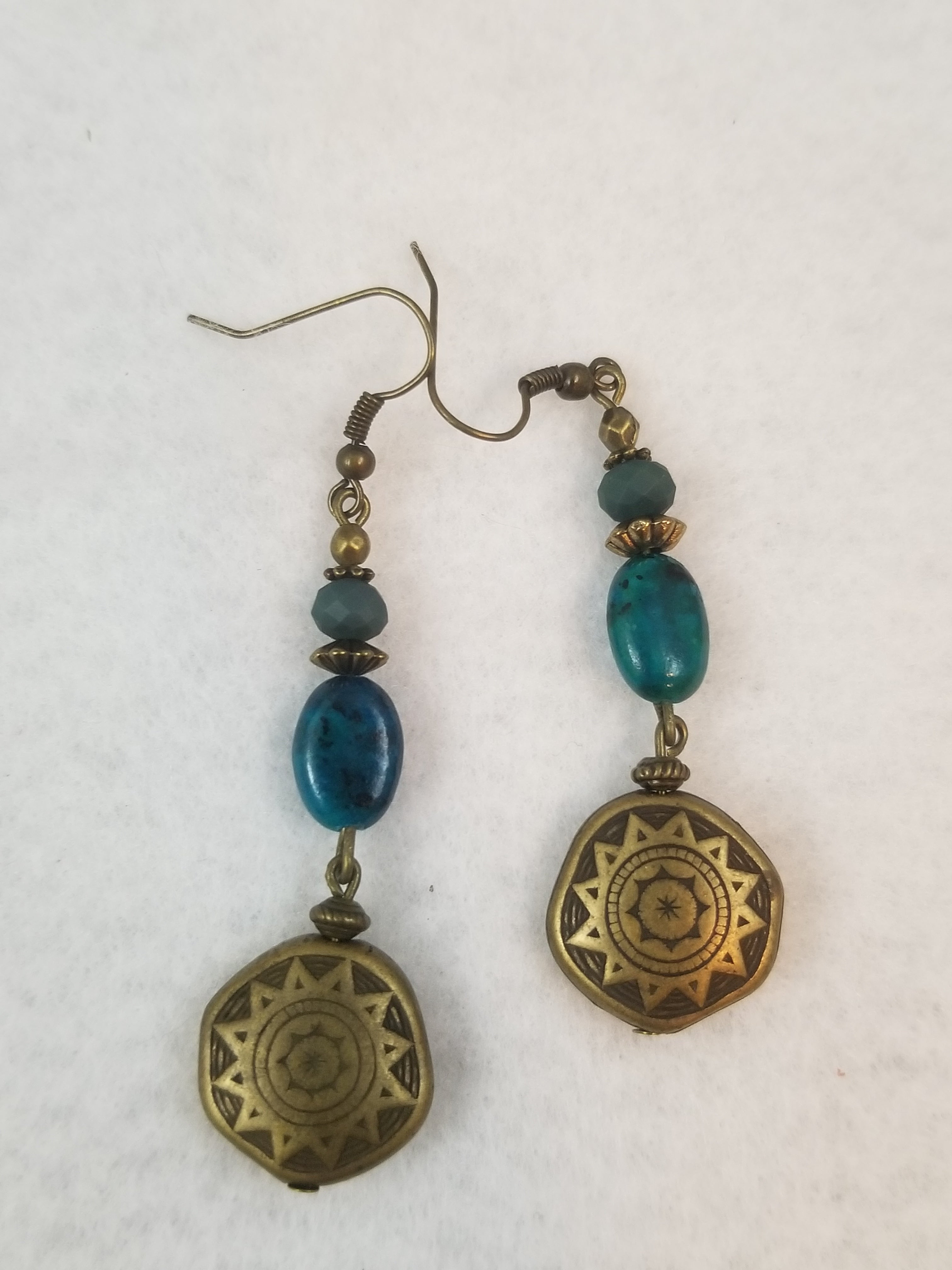 Turquois Colored #30 Earrings