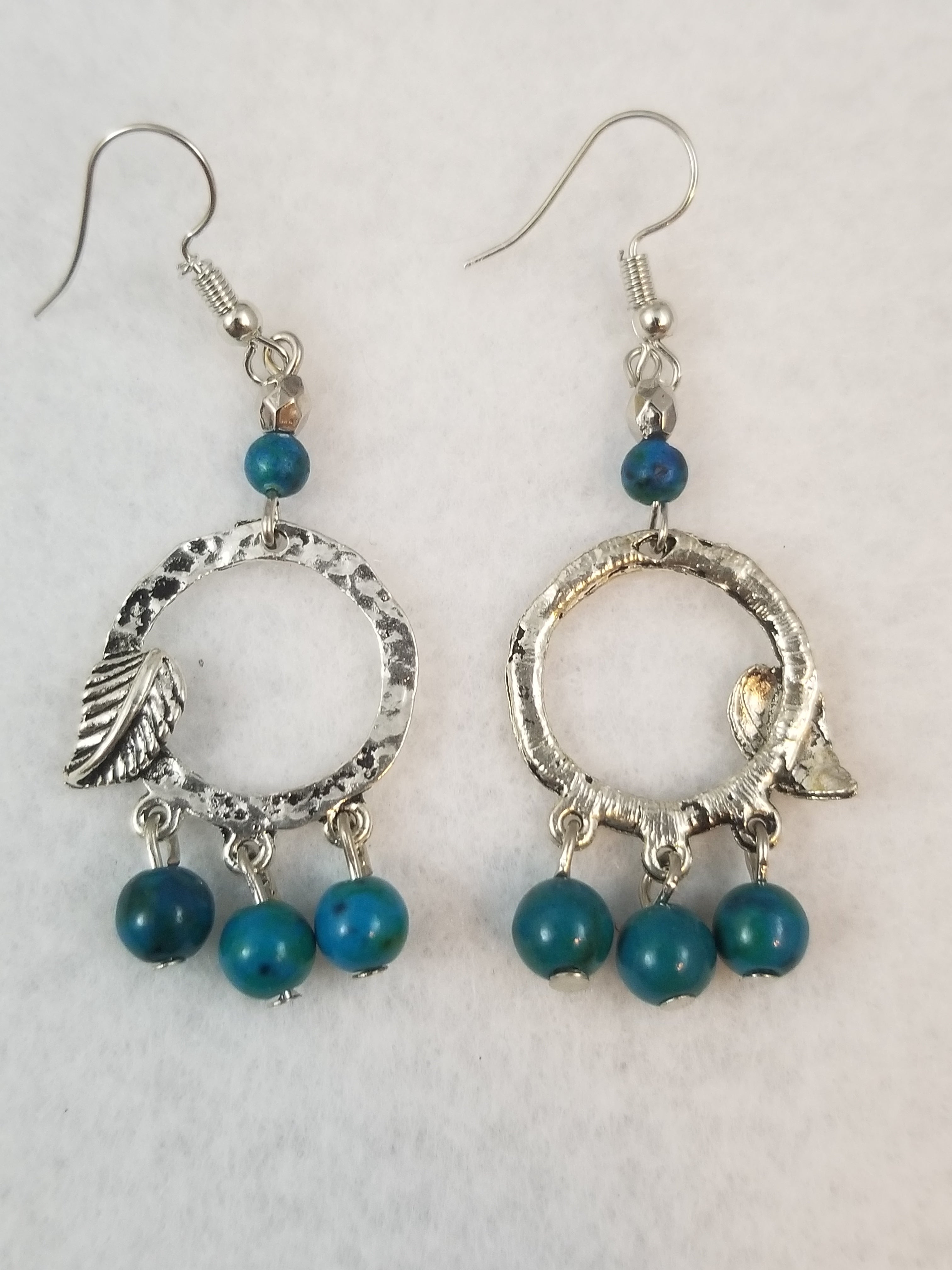 Turquois Colored #40 Earrings