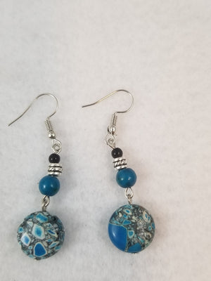 Turquois Colored #44 Earrings