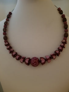 Vintage Wine Necklace