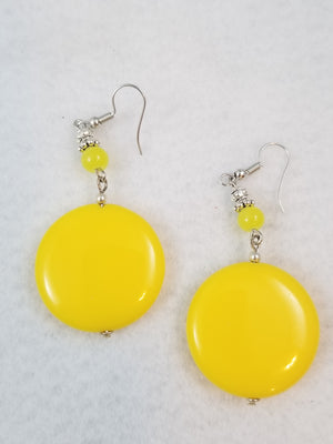Yellow #11 Earrings