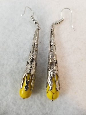 Yellow #7 Earrings