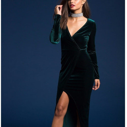 VELOUR dress - Next day shipping