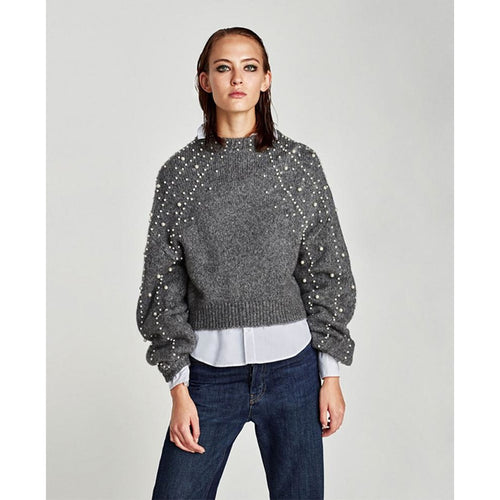 PEARL knit sweater