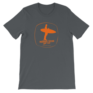 Classic Unisex logo T-shirt with ORANGE print