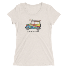 Iconic JEEP tee for WOMEN with full color print