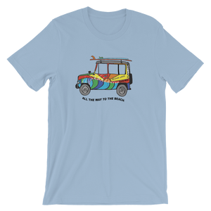 Iconic JEEP Frijoles Locos T-shirt (full color print)