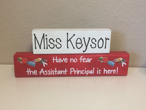 Personalized Assistant Principal Blocks