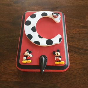 mickey mouse wall hook