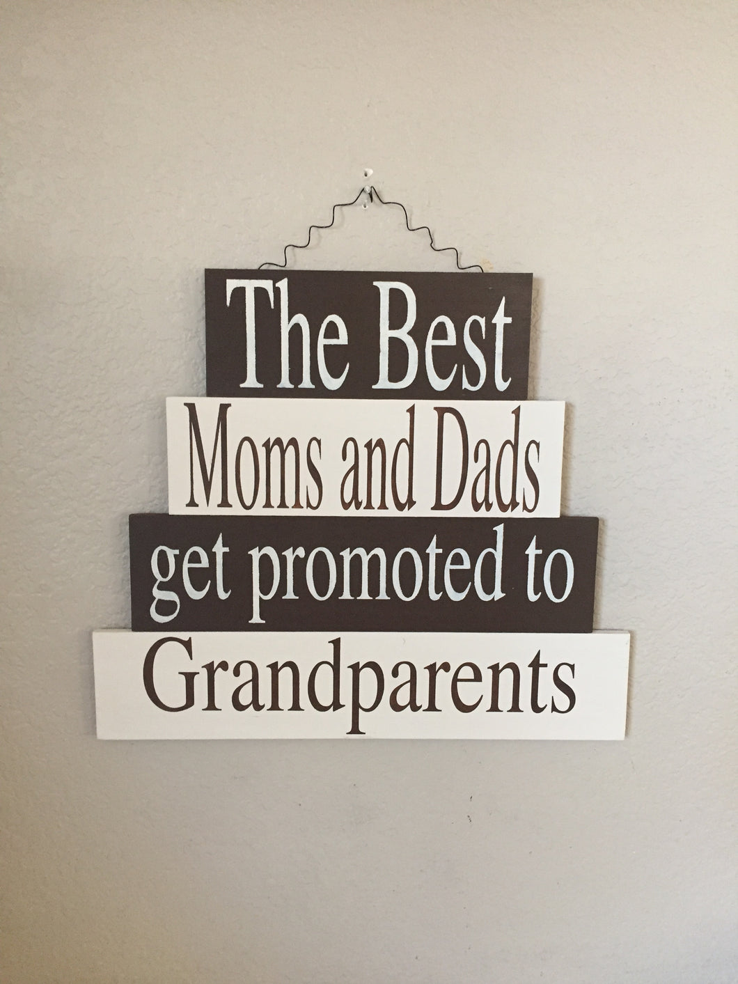 promoted to grandparents sign