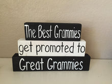get promoted to great grammie