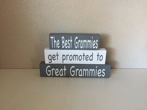 promoting to great grammie gift