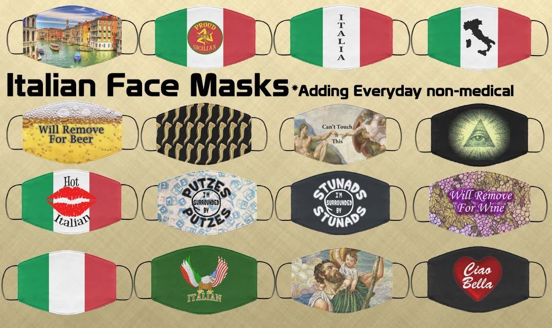 Italian Face Mask Collection
