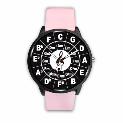 Awesome Circle of Fifths Watch - Free Shipping Sale