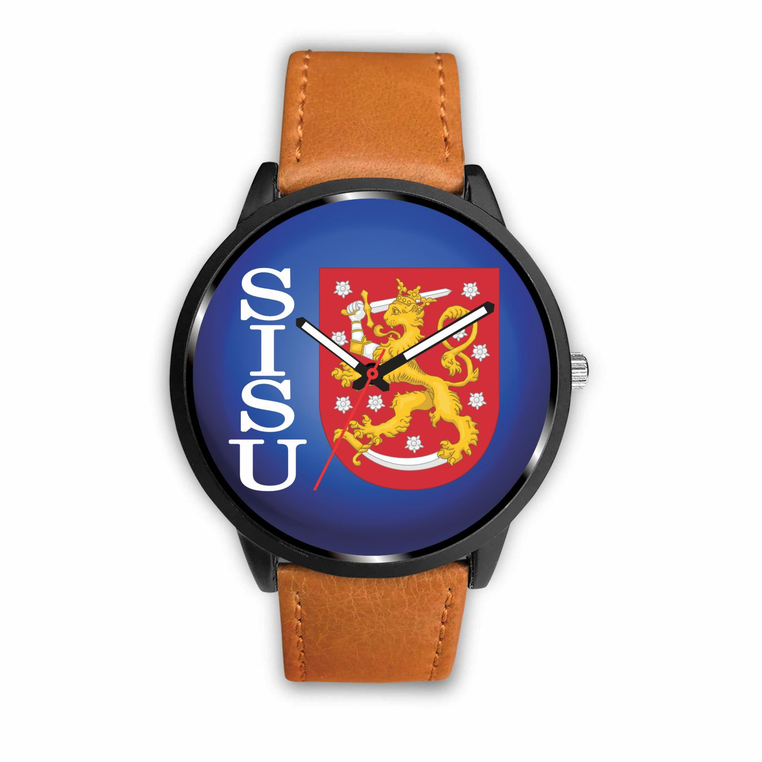 Awesome SISU Finnish Watch - Free US Shipping