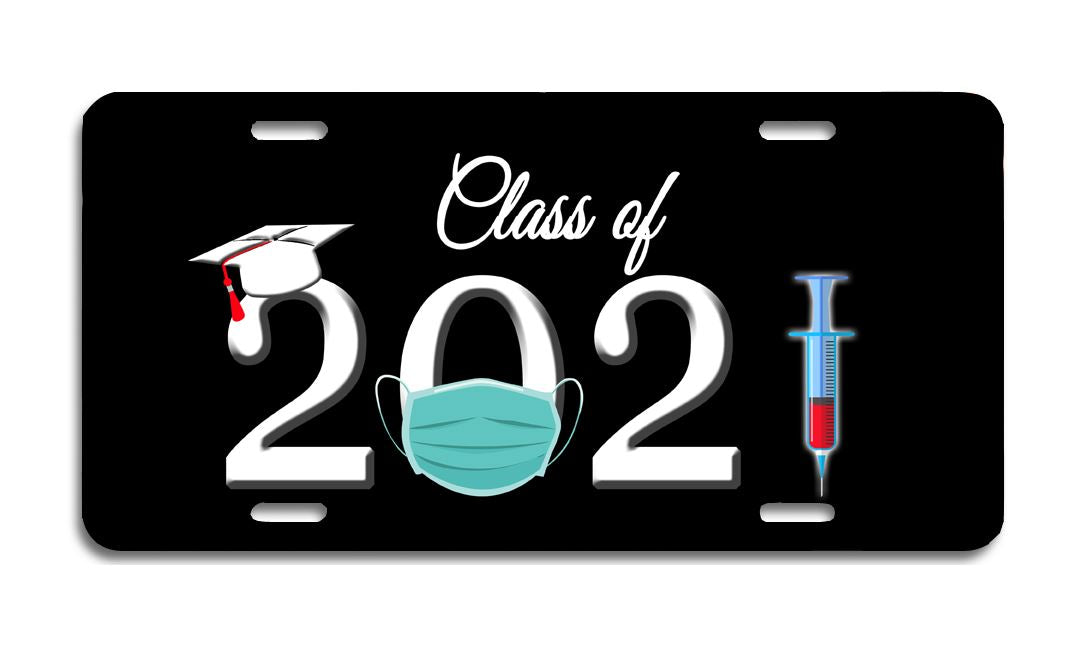 2021 - Aluminum License Plate